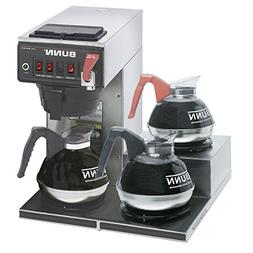 BUNN 12950. 0298 12 Cup Coffee Brewer with Lower Warmers The