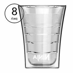 14 Oz Microwave Safe Plastic Double-Insulated Cup for Ninja
