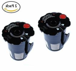 2 Pack Coffee Filter for Keurig 119367 2.0 My K-Cup Updated