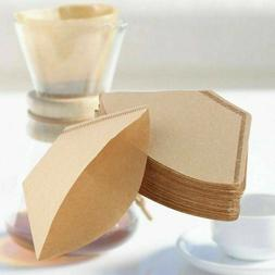 200 x Coffee Filter Paper Unbleached Disposable For Espresso