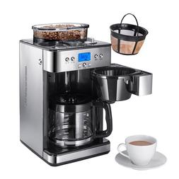 220V Drip Cafe American Coffee Maker Fully <font><b>Automati