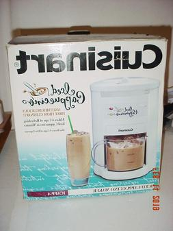 CUISINART 4 CUP ICED CAPPUCCINO OR 8 CUP HOT ESPRESSO MAKER