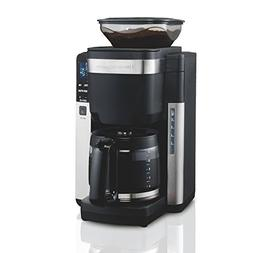 Hamilton Beach 45400 Coffee Maker, Automatic Grounds Dispens