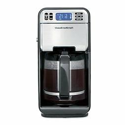Hamilton Beach 46205 12-Cup Programmable Coffee Maker Stainl