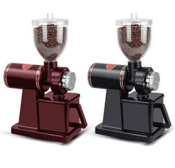 8 Scale Electric Coffee Bean Grinder Grinding Mill Machine f