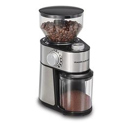 Hamilton Beach 80382 Burr 14 Cup Coffee Grinder, Grey