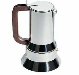 Alessi 9090/M Stovetop Richard Sapper Espresso Coffee Maker,