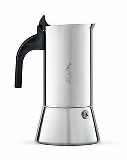 Bialetti Elegance Venus Induction 4 Cup Stainless Steel Espr