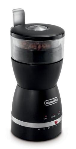 DeLonghi KG49 Electronic Coffee-Bean Grinder with 3 Grind Se