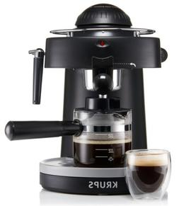 KRUPS XP1000 Steam Espresso Machine with Frothing Nozzle for