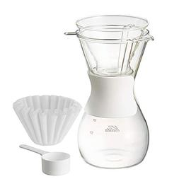 Kalita 35159 Wave Style 185 Coffee Brewer, Clear