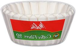 Melitta Basket Coffee Filters, White , 50-Count Filters