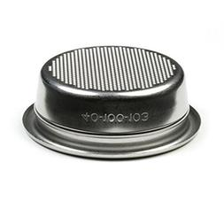 Rancilio 18 gram Double Portafilter Insert Basket - OEM Part