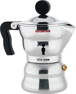 "Alessi AAM33/1""Moka"" Stove Top Espresso Coffee Maker in Alum"