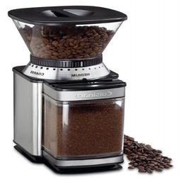 Automatic Coffee Grinder Electric Burr Mill Bean Black Stain