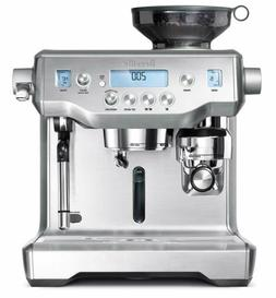 bes980xl oracle espresso machine brushed stainless steel
