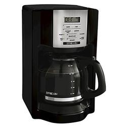 Mr. Coffee Black 12-Cup Programmable Coffeemaker