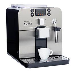 Gaggia Brera Super Automatic Espresso Machine in Black. Pann