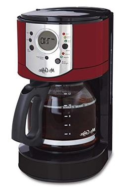 Mr. Coffee 12-Cup Programmable Coffee Maker with Brew Streng