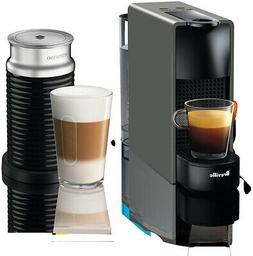 Nespresso by Breville Gray Essenza Mini Espresso Maker Bundl
