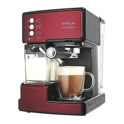 Cafe Barista Espresso & Cappuccino & latte Maker Red Machine