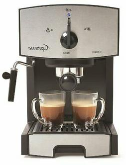 117.05 Stainless Steel Pump Espresso and Cappuccino Machine