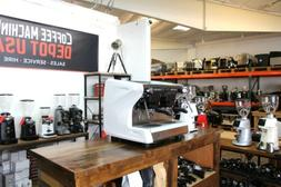 Rancilio Classe 5 USB 2 Group Compact with Fiorenzato F4 Gri