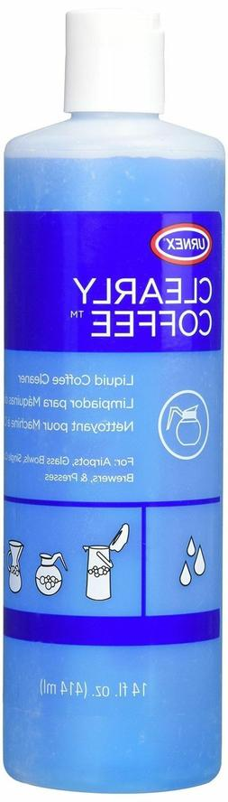 Urnex Clearly Coffee Pot Cleaner - 14 Ounce - Liquid Cleaner