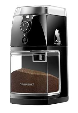 Chefman Coffee Grinder Electric Burr Mill Freshly 8oz Beans