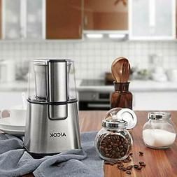 AICOK Coffee Grinder Electric Fast and Fine Fineness Blade w