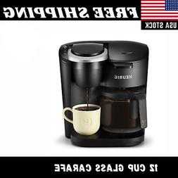 COFFEE MAKER BREWER Machine 12 Cup Single Serve Pod K-Cup Ca