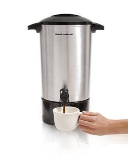 Hamilton Beach 40516 Coffee Urn - 42 Cup - Silver - Stainles