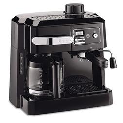 DeLonghi COMBINATION Espresso and Drip Coffee Maker with Pat