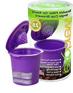 Ekobrew Cup, Refillable K-Cup For Keurig K-Cup Brewers, Brow