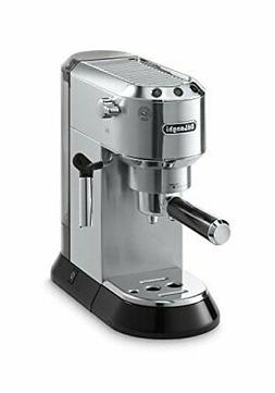 Delonghi EC680M DEDICA 15-Bar Pump Espresso Machine, Stainle