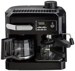 DeLonghi Espresso Machine Cappuccino Drip Coffee Maker Combo