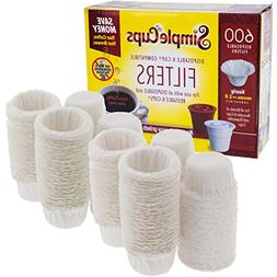 Disposable Filters for Use in Keurig Brewers- 600 Single Ser