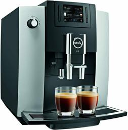 Jura E6 Automatic Coffee Center 15070, Platinum