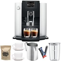 Jura 15070 E6 Automatic Coffee Center, Platinum Includes Jur