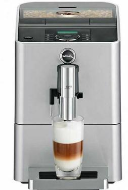 Jura ENA Micro 90 Silver Espresso Coffee Latte Maker Bean to