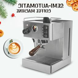 Espresso coffee machine Cappuccino Machines 9 bar Stainless