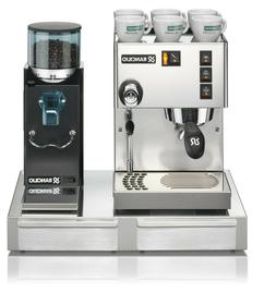 Rancilio Silvia M Espresso Machine with Rocky grinder and st