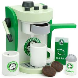 Espresso Express Coffee Maker Playset, with 2 Cups, 2 Pods,