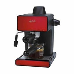Mr. Coffee Espresso Maker, BVMC-ECM260R, Red