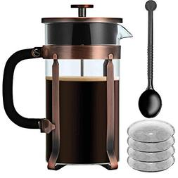 French Press, IDEALHOUSE 34 Ounce/1 Liter/8 Cup Espresso Cof