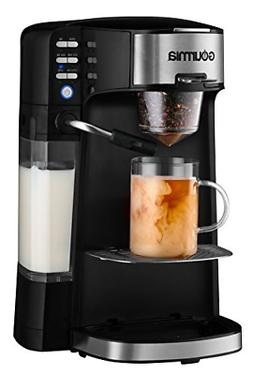 Gourmia GCM6000 6 In 1 Single Serve - One Touch Coffee - Cap