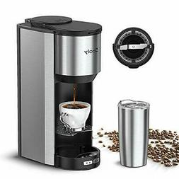 GREAT Automatic Coffee Maker Machine With Built In Grinder A