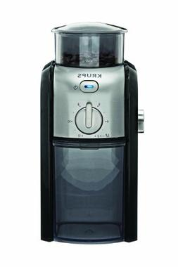 KRUPS GVX212 Coffee Grinder with Grind Size and Cup Selectio