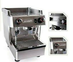 Handmade Compact 1 Group Espresso Machine Stainless Steel Co