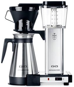 Moccamaster KBT 10-Cup Coffee Brewer with Thermal Carafe, Po